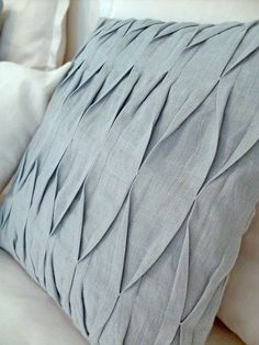 Image result for fabric manipulation pillows