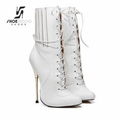 025bb8c0cae 37 best black and white high heels images in 2018 | Boots, Beautiful ...