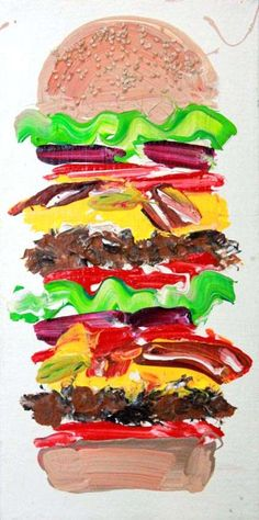 The Maya Hayuk Series of Trippy & Fun Artistic Adventures #burgers trendhunter.com