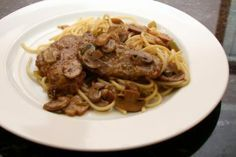 Easy Veal Marsala with Mushrooms: Veal Marsala With Spaghetti
