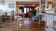 Walkern tea rooms - one of my favourite places to catch up with friends, whilst enjoying tea in vintage china.