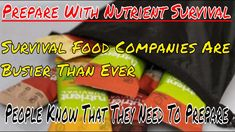 National Preparedness Month, Survival Food, Really Hard, Keep Up, Prepping, Watch, Bag, Youtube, Clock