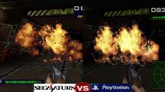 Sega Saturn Vs PlayStation   Alien Trilogy
