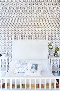 Bedroom - 1920's interior in swedish summer house - Via Hus & Hem