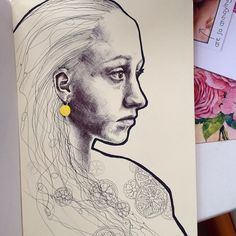 Kate Powell Art @katelouisepowell Quick drawing of ...Instagram photo   Websta (Webstagram)