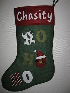My stocking!