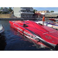 50' Mystic powered by Turbine Marines. 208 MPH at LOTO