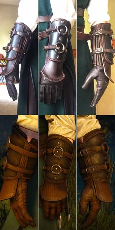 Cosplay sewing, leatherworking, and general good times with Geralt, McCree, and the occasional era X-man. You can't go wrong with leather OR bright yellow spandex.