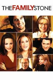 The Family Stone- Claire Danes, Diane Keaton, Rachel McAdams, Dermot Mulroney, Craig T Nelson, Sarah Jessica Parker, Luke Wilson... Funny yet sad movie about a family's last Christmas w/their mom who hasn't told her family that she only has little time left due to breast cancer. The family is eccentric & Sarah Jessica Parker's character is that square peg. It's a movie that made me laugh a lot but cry as well. It is definitely one of those X-mas movies that I love to watch in July!