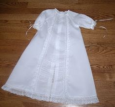 The Old Fashioned Baby Sewing Room: White Wednesday- Raglan Christening Gowns