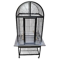 This King`s Aluminium Arch Top Parrot Cage is for and It has seed catchers, perches, feeders and more. Shop now. Monk Parakeet, Senegal Parrot, King Cage, Bird Cages, Parrot Cages, Front Door Locks, Conure, Parrot Bird, Nesting Boxes