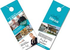 Real Estate Door Hanger Template  Door Hanger Template Hanger