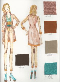 parsons fashion design portfolio examples google search