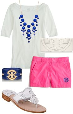 """""""Monogram Shorts"""" by alexkay98 ❤ liked on Polyvore"""