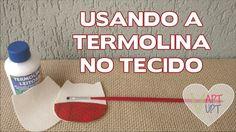 Como Usar a Termolina Leitosa no Tecido - Vapt Vupt