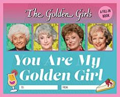 Amazon.com: the golden girls gifts Best Friend Gifts, Girls Best Friend, Golden Girls Gifts, Christmas Presents For Friends, Book Format, Book Girl, I Am Awesome, How To Memorize Things, How Are You Feeling