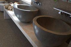 Bagno In Marmo Yuna Dark : Lavabi di Arte Pietra