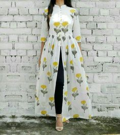 indian fashion Suits -- CLICK Visit link above for more options Pakistani Dresses, Indian Dresses, Indian Outfits, Indian Designer Outfits, Designer Dresses, Stylish Dresses, Fashion Dresses, Yellow Maxi Dress, Hijab Stile