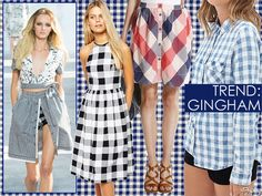 Shop The NYFW Trend: 13 Ways To Get Your Gingham On
