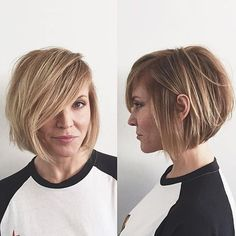 Color by @nidiadhaircolor | Cut by @domdomhair #womenshair #hair #color #blonde #highlights #pretty #natural #cut #bot #bangs #nidiadhaircolor #domdomhair #chrismcmillansalon @soloartists