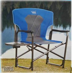 Timber Ridge 2016 Director chair & UT Texas Longhorn Tailgate folding Arm chair | Nautica Beach chairs ...