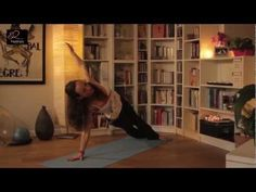 Fitness Video: Standing Abs Workout, Push Ups and Core Power with Yoga Poses