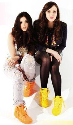 Olivia Thirlby & Kat Dennings for Nylon, May 2009