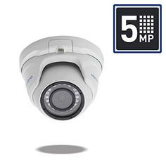 MorphXStar Security 5 Megapixel Sony Starvis HD PoE Fixed Lens Night Vision Mini Eyeball Dome IP Camera Built-in Microphone, Audio Recording, Power Over Ethernet - White Cctv Security Cameras, Security Camera System, Safety And Security, Ptz Camera, Outdoor Camera, Bullet Camera, Home Protection, Dome Camera, Home Safety