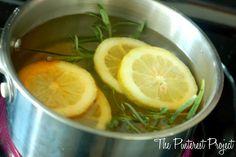 My Williams-Sonoma House - lemon, rosemary & vanilla air freshener