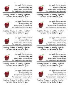 Back to School Parent Poem