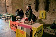 The Libera's Organization workstation - La postazione della organizzazione Libera