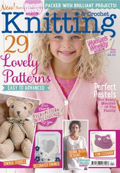 1000+ images about Knitting Magazine Covers on Pinterest Knitting, Crochet ...