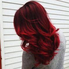 Candy Apple Red - This hair color is honestly everything. It is very soulful and deep.