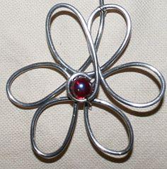 bijoux artisanaux fil aluminium - Bing Images