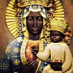 """The first """"Black Madonna and Child"""" statutes and portraits were of Isis and Horus, and these were ..."""