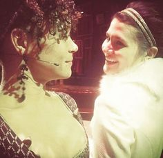 Hélène Bezukhova and Natasha Rostova; Theatre Geek, Broadway Theatre, Musical Theatre, Great Comet Of 1812, The Great Comet, War And Peace Characters, Lucas Steele, Pippa Soo, Old Prince