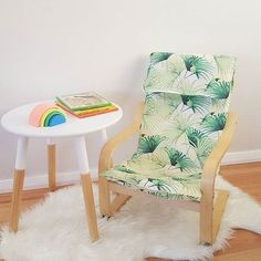 mommo design: IKEA HACKS FOR KIDS - tropical Poang