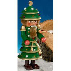 Steinbach Christmas Tree German Nutcracker 2008 Edition-Signed