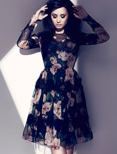 Demi Lovato Stars in Fashion Magazine August 2013 by Chris Nicholls