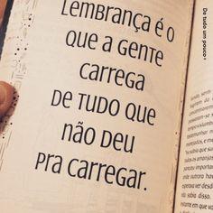 #lembrança