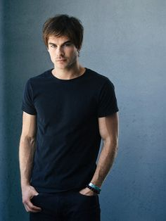 Ian Somerhalder- Yes I finally gave in and now I'm addicted to Vampire Diaries. I <3 Damon Salvatore