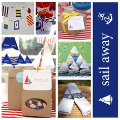 nautical centerpieces | nautical centerpiece
