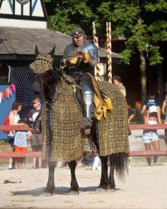The Earl horse barding