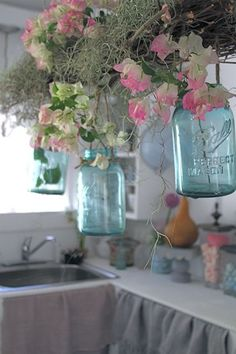 umla: (via A gorgeous mason jar idea | Cottage...