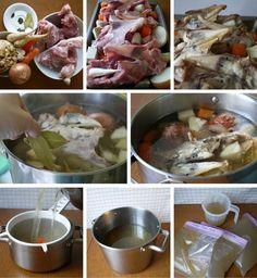 Kuřecí vývar Chicken, Meat, Food, Essen, Meals, Yemek, Eten, Cubs