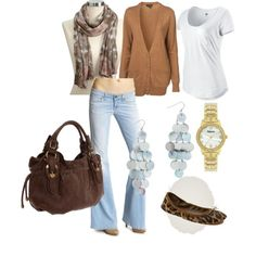 My new casual outfit... don't have these exact pieces but VERY similar... it was all inspired by Jessica Simpson