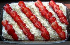 Epres- fehér csokoládés tiramisu