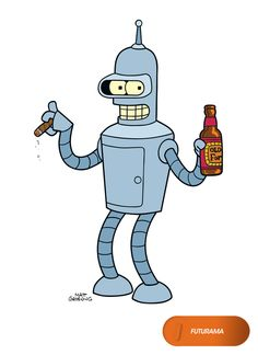 Bender. Futurama - Domingos 20.00 #FuturamaEnFOX Mira contenido exclusivo en www.foxplay.com