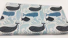 Wieloryby na bieli - softshell MetryiCentymetry