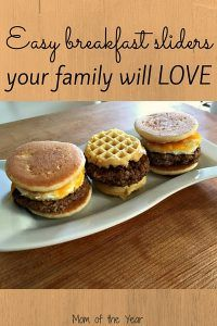 Looking for a quick, easy, yet SPECIAL dish for mom this Mother's Day? Make mom swoon with this yummy recipe for Johnsonville sausage breakfast sliders--YUM! She'll be wowed and you'll be delighted with how easy they are to prepare--and check out the fun idea for a surprise twist to add even more flavor!